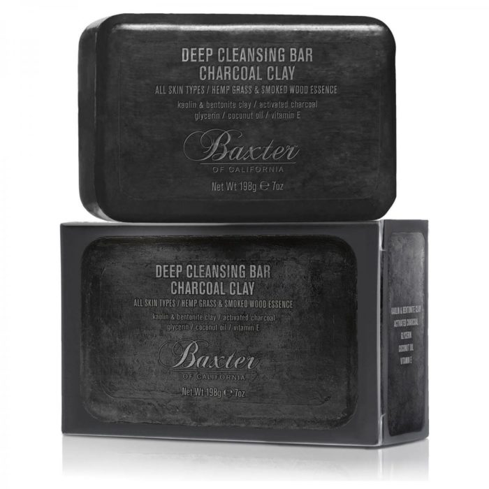 Savon au charbon – Baxter of california