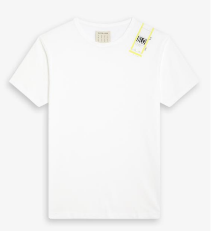 Blotter Atelier – Tshirt Luggage – Blanc