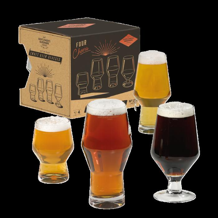 Coffret verres à bière – Gentlemen's Hardware