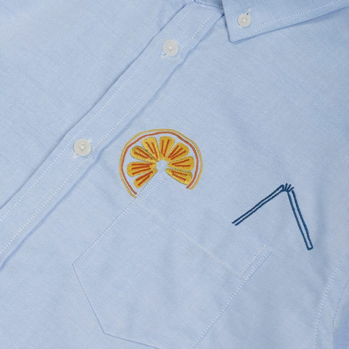 Olow – Chemise Drink – Bleu