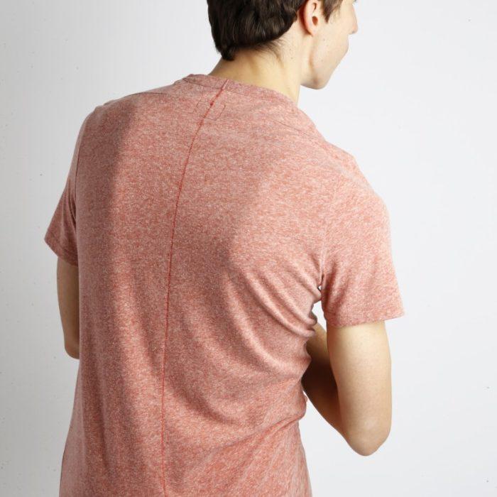Homecore – Tshirt Rodger Chine – Brick