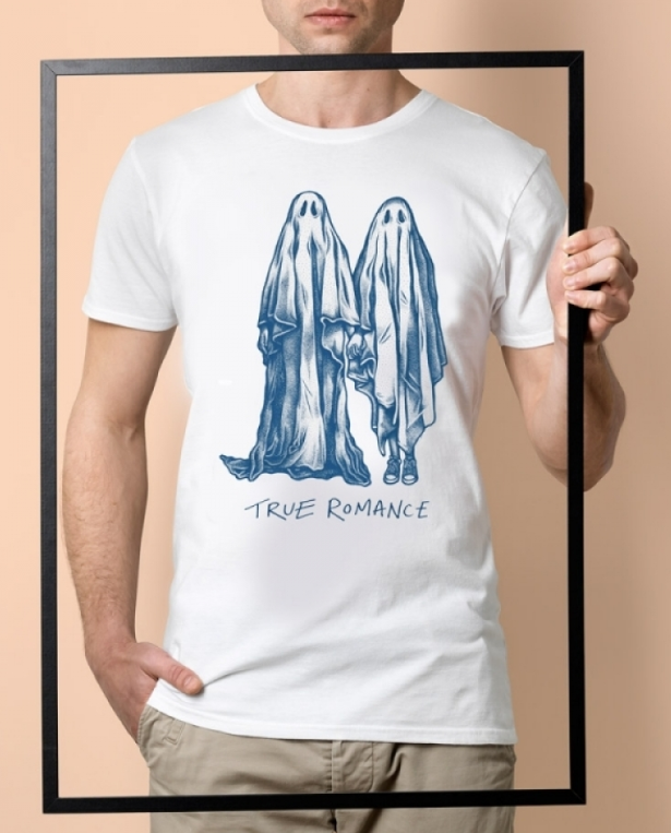 Stepart – T-Shirt True Romance – Blanc