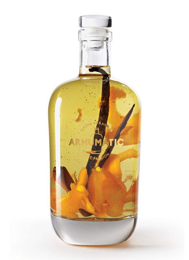 Rhum arrangé à l'Orange-Cannelle-Vanille – Arhumatic