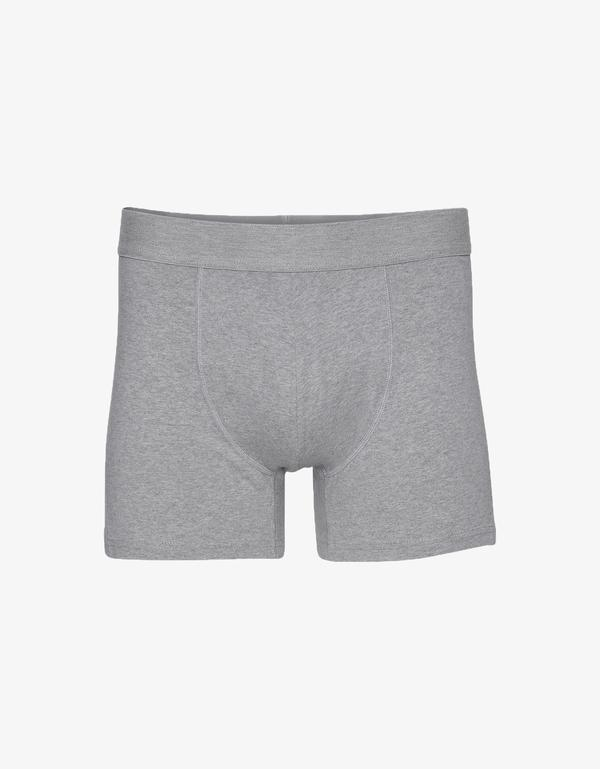 BOXER COLORFUL HEATHER GREY