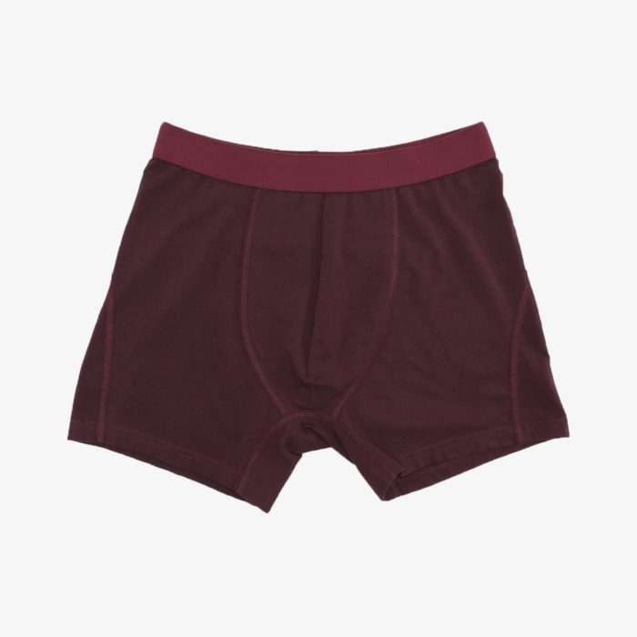 BOXER COLORFUL OXBLOOD RED