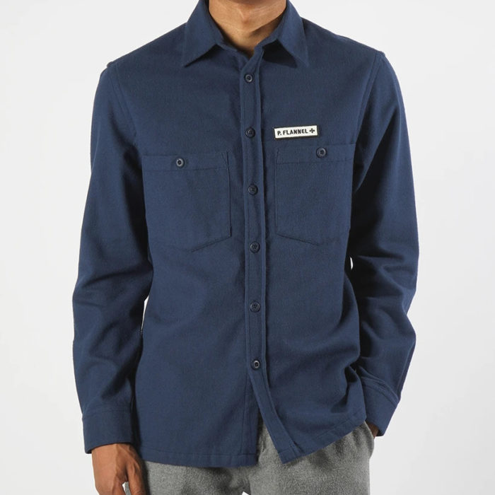 OVERSHIRT P.FLANNEL NAVY