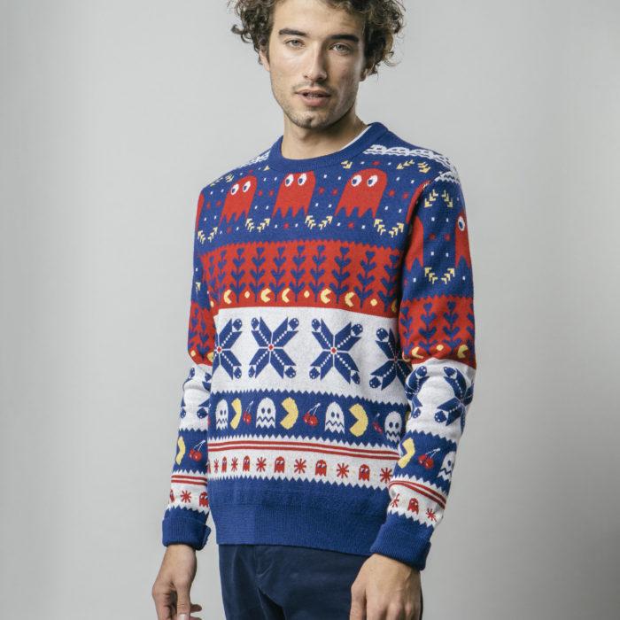 Pull de Noël Pacman – Brava