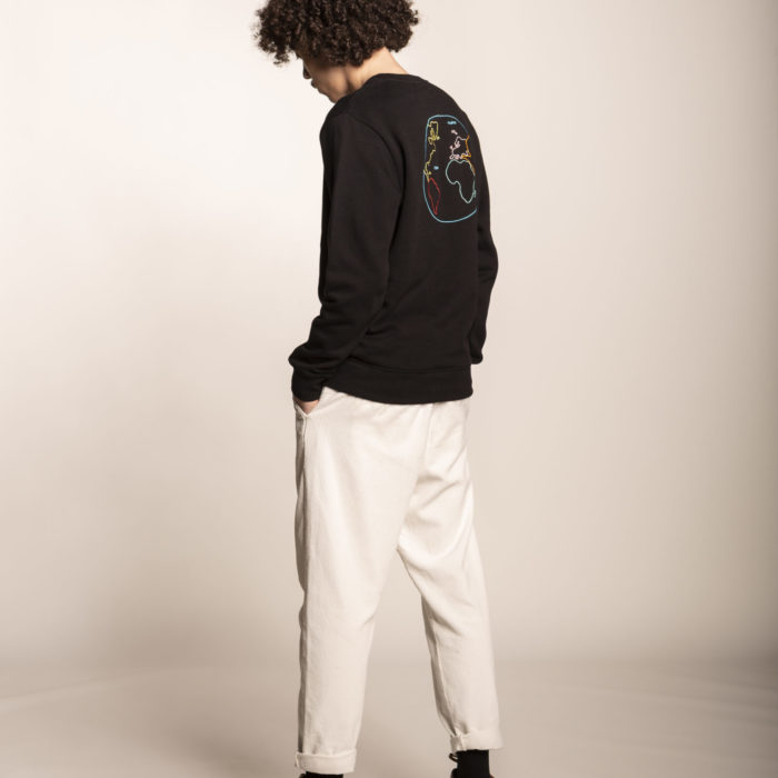 SWEAT HUMAN BLACK OLOW