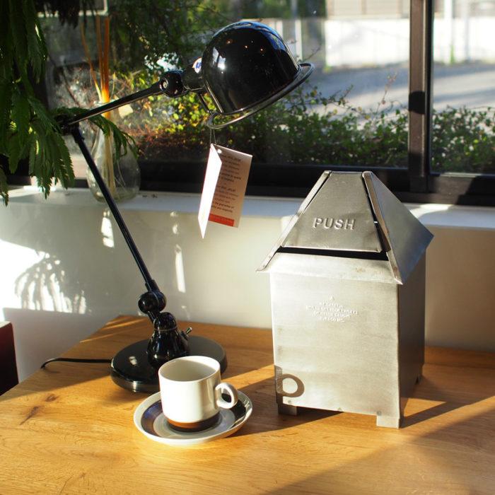 Poubelle de table en acier – Puebco