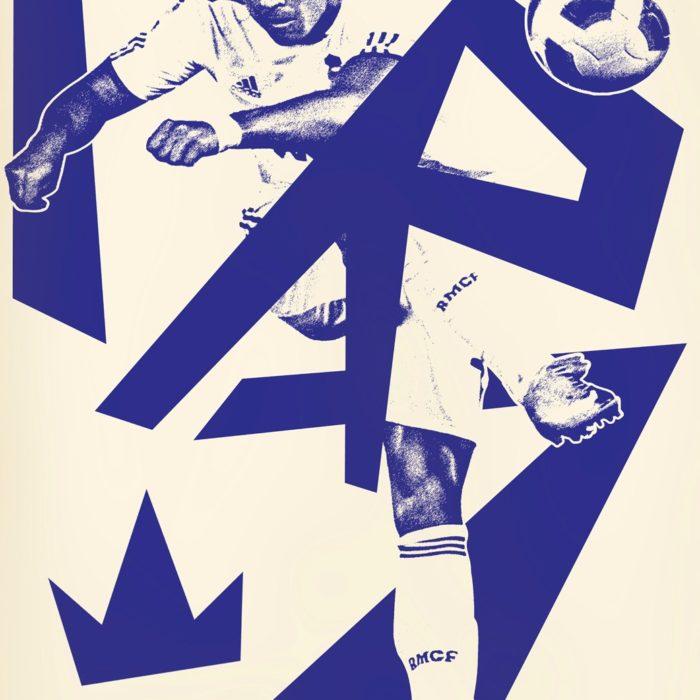 Affiche CR7 – Sergeant Paper