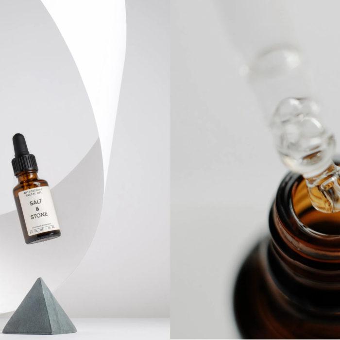 Huile antioxydante pour visage – Salt & Stone