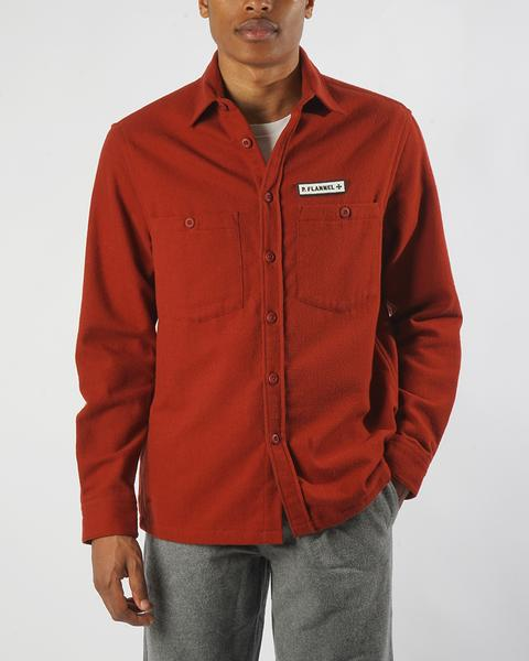 OVERSHIRT P.FLANNEL RED