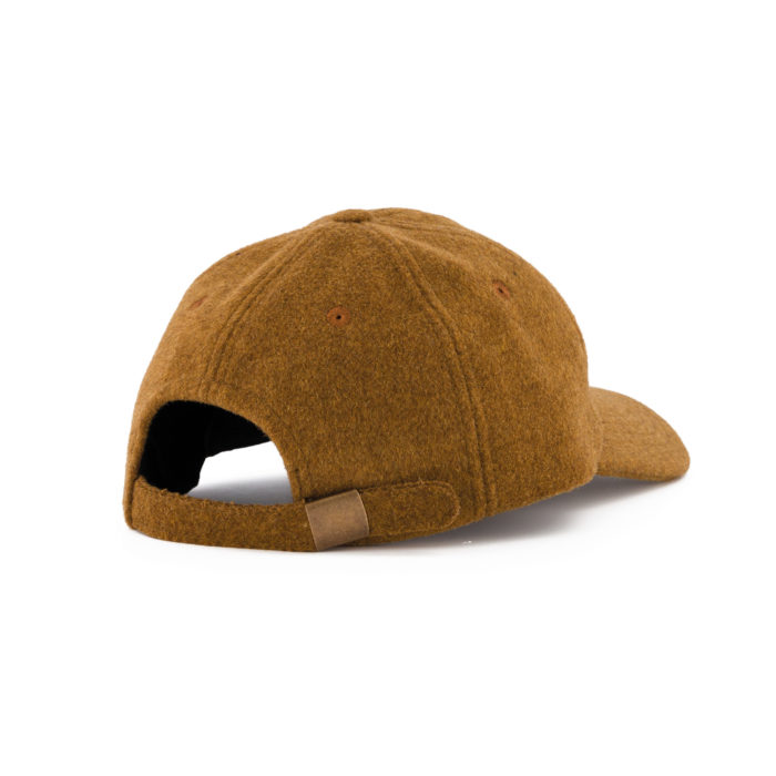 ARCHIE WOOL CAP CAMEL – OUTLAND
