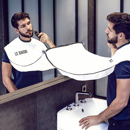 Tablier à barbe – Le Bavoir