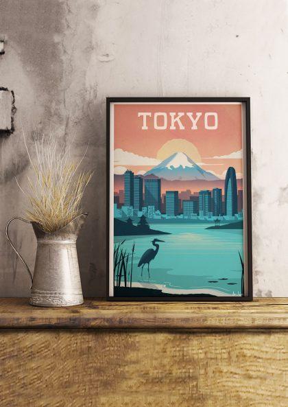 Affiche Tokyo – Sergeant Paper