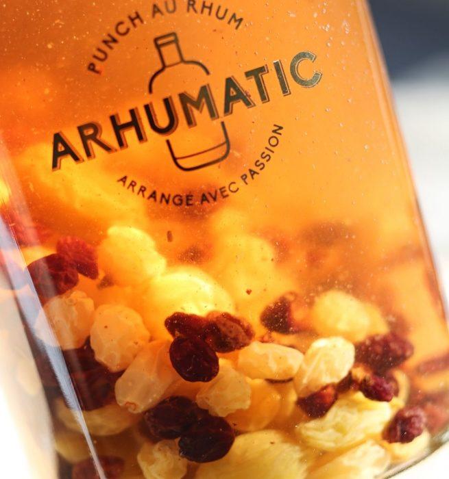 Rhum arrangé aux raisins – Arhumatic