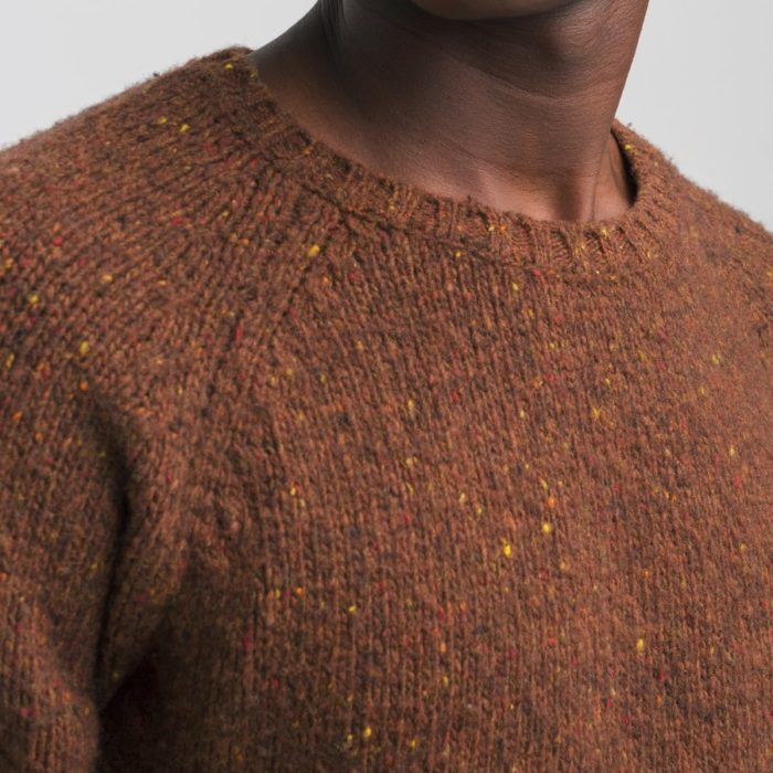 Pull en laine Brushed Brique – Edmmond Studios