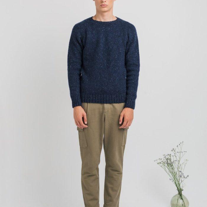 Pull en laine Brushed Bleu – Edmmond Studios