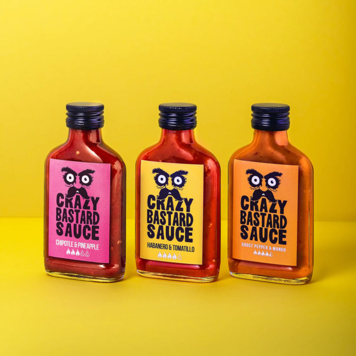 CRAZY BASTARD SAUCE SET YELLOW