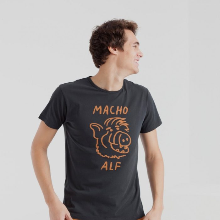 Thinking Mu – Tee Shirt Macho – Black