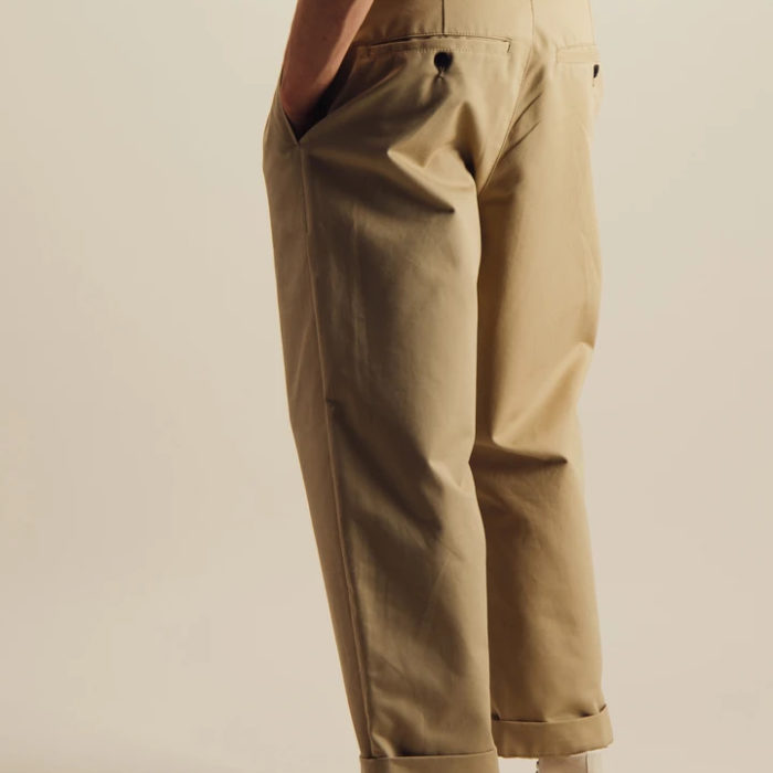 DOUBLE PLEATS PANT OUTLAND