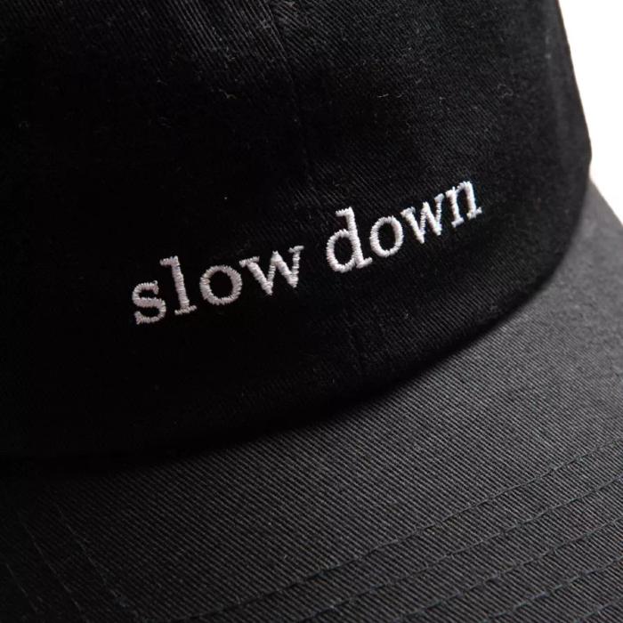 Casquette Slow Down Noire – Forét