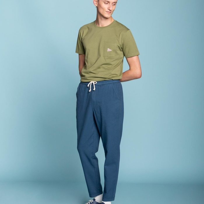 PANTALON WEEKEND BLEU OLOW