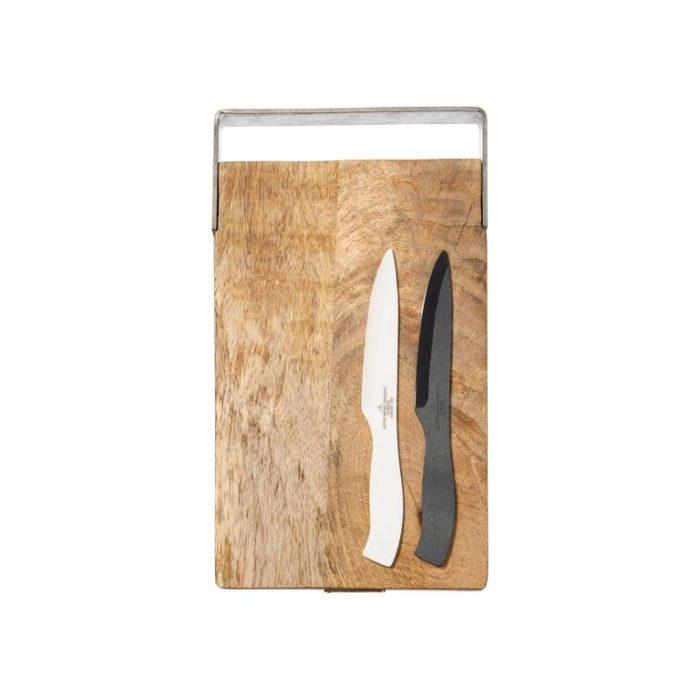 Couteau Céramique Blanc – Puebco