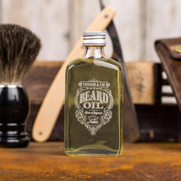 Huile de barbe boisée – Tonsor