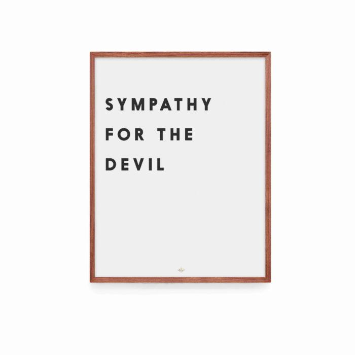 Affiche Sympathy For The Devil – Low Key