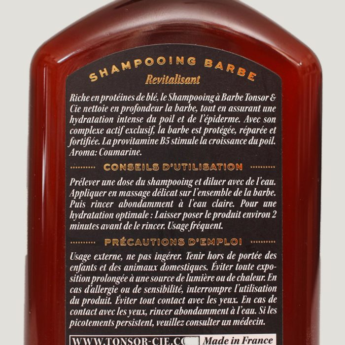 SHAMPOING BARBE TONSOR